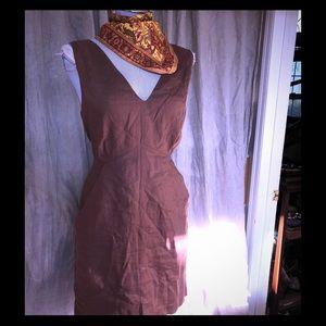 Calypso st Barth fall brown dress L